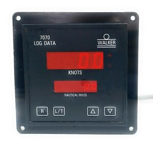 Walker 7070 Wind weather integrated speed log indicator IMI