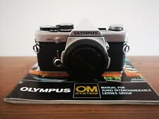 Olympus OM-2N SLR FILM CAMERA Silver Body Only No.1006836 WORKING