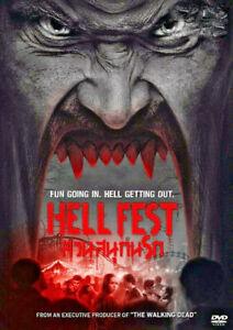 Hell Fest (2018) DVD R0 PAL - Cynthea Mercado, Stephen Conroy, Cult Horror