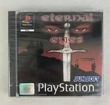 PS1 Eternal Eyes (2001), UK Pal, Brand New & Sony Factory Sealed, Mint
