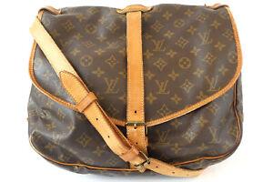LOUIS VUITTON Samuel 35 Monogram Shoulder Bag M42254