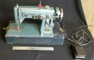Vintage Brother Zig Zag Select-O-Matic Portable Sewing Machine