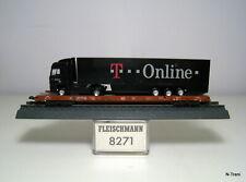 """Fleischmann N 8271 + 065061 - RoLa Saadkmms 890 intermedio DB + TIR """"T-Online"""""""