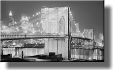 Brooklyn Bridge Picture, Made on Stretched Canvas, Wall Art Decor, Ready to Hang
