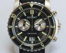 OCEAN7 LM-5CQ Chronograph Dive Watch, Sapphire Crystal, Reverse Panda Dial.