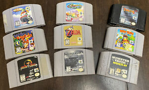 N64 Lot Of Games