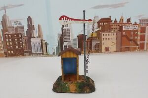 Vintage Prewar Marklin O & 1 Gauge No.2157 Signal Hut and Semaphore