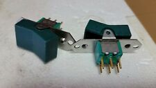 Qty-2 JBT 6 pin ON-ON TOGGLE SWITCH ONAN Green CONTROL SWITCH 6 Amp 2 pc lot NOS