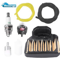537255701 Air Fuel Filter Fuel Line Tune Up Kit for Husqvarna 455E Rancher 460