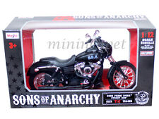 MAISTO 32343 SONS OF ANARCHY HARLEY DAVIDSON 2006 ALEX TIG TRAGER 1/12 BLACK