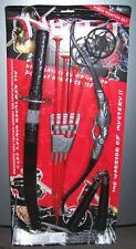 COMPLETE NINJA SET BOW AND ARROWS PLAY SET archery toy weapon boy toys dressup