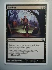 1x Zombify UNCOMMEN 9th MtG Magic