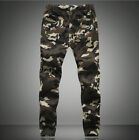 Mens Casual Military Army Pant Cool Cargo Camo Combat Work Pants Trousers Hot