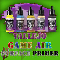 Vallejo Official Game Air Airbrush Paints 17ml Acrylics & Primers Free Ship $35+