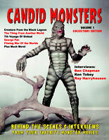 CANDID MONSTERS Book #1 100 + Monster Photos CREATURE From the Black Lagoon SPFX