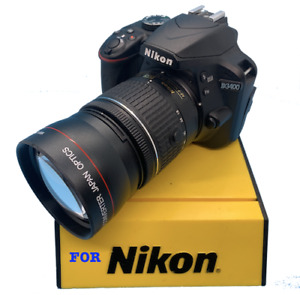 PRO 2X ZOOM Telephoto  Lens for Nikon D3200 D3000 D5100 D5000 D5200 D40 D60 D610