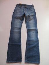 LEE Denver Schlag Jeans Hose W 28 /L 34 /36, TOP ! Flare Leg, Faded Wash Denim !