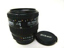 Nikon AF Nikkor 35-70mm f/3.3-4.5 lens for Nikon Cameras-Used