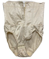 Jaclyn Smith HighWaisted Nipper Corset Panty Brief Tummy Control Shaper Nude XL