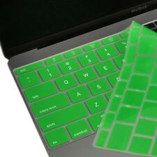 """Green Keyboard Cover Silicone Skin for New Macbook 12"""" with Retina A1534"""
