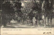 Greenfield Ma East Main St. c1905 Tuck #2158 Postcard