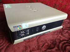 Dell PC Optiplex GX620 USFF Intel Pentium D 3.00 GHz SFF 2GB RAM 80GB HDD