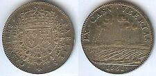 Jeton - LOUIS XIV 1661 argent 6 gr parties casuelles blasons d=27mm