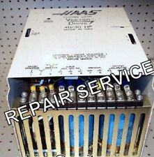 REPAIR SERVICE- HAAS 93-69-1000, 20/15 HP VECTOR DRIVE