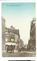 Postcard Chester Eastgate Street Horse & Cart Lilywhite series Triangle