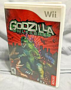 Godzilla: Unleashed (Nintendo Wii, 2007) - Original Game Case Only - No Disc