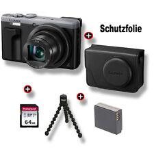 Panasonic Lumix DMC-TZ81 MEGA-SET Kompaktkamera - Silber Fachhändler