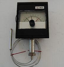 United Electric 802-6BS Temperature Switch 0-250 Deg F, Upper & Lower set point