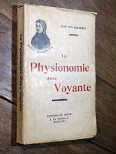 Jean des Rochères LA PHYSIONOMIE D'UNE VOYANTE Sainte Bernadette 1934