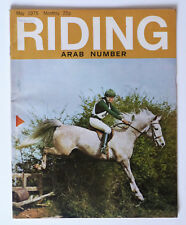 Vintage RIDING Magazine: May 1975, Arab Number.