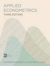 Applied Econometrics by S. G. Hall, Dimitrios Asteriou (Paperback, 2015)
