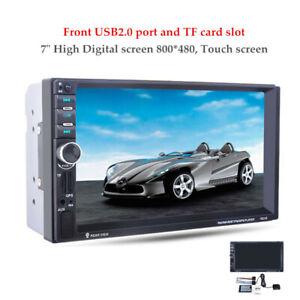 "Universal 12V 7.0""HD Touch Car MP5 Player GPS Navigation Bluetooth FM AUX Kit"