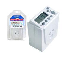 SanSai 7days Digital Timer for Automation 240v Electric Programmable