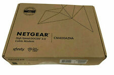 NEW NETGEAR High Speed DOCSIS 3.0 Cable Modem Xfinity And Spectrum CM400-1AZNAS