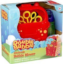 Nuevo juguete electrónico Soplador De Burbujas divertido solución de burbuja doble burbuja Maker Inc