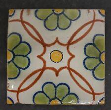 Vintage Mexican Tile - Floral