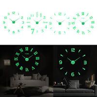 Orologio luminoso da parete Orologio fai da te moderno 3d per la casa,