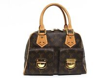 Louis Vuitton Shoulder Manhattan Pm Handle Monogram Canvas Bag