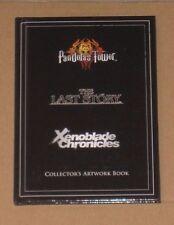 Pandora's Tower Xenoblade Chronicles El Último Coleccionistas de historia Libro De Arte Ilustraciones