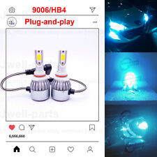 2020 NEW 9006 HB4 LED Headlights Bulbs Kit Headlamp Lamp 40W 3500LM 8000K Blue