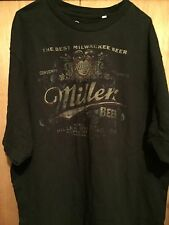 MILLER BREWING COMPANY VINTAGE STYLE OFFICIALLY LICENSED T-SHIRT XXXL