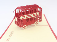 3D PopUp Greeting Card London bus Birthday Thanksgiving Christmas Any Occasion23