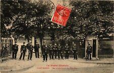 CPA  Saint-Mihiel - Baraquements du 25e Bataillon  (631139)