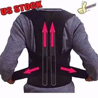 Posture Corrector Back Support Brace Shoulder Scoliosis Lower Pain Relief US hOT