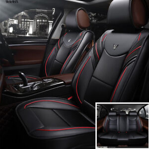 PU Car Cushion 5-seats seat covers 6D car-styling Full Surrounded seat covers