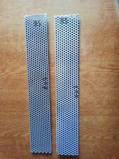 Aluminium Perforated Mesh Sheet Plate 507mm x 85mm + 500mm x 85mm